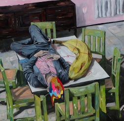 Iqi Qoror: Sleeping with Big Banana