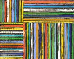 Petra Rös-Nickel: Stripes in Rainbow