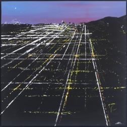Pete Kasprzak: Lexington Sunset Aerial