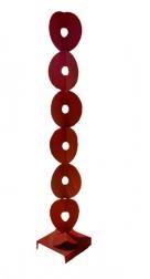 Granville Beals: 7 Folded Circles