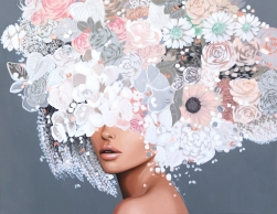 Sally K: Gray Blush