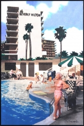 Michael Giliberti: Poolside at the Beverly Hilton