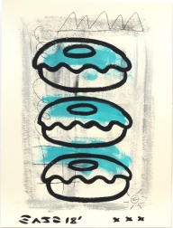 Gary John: Blue Raspberry Donuts