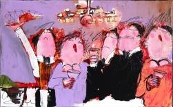 Gerdine Duijsens: Romantic Dinner With Candlelight
