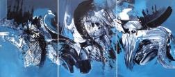 Gail Titus: Joy In Motion (Triptych)