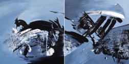 Gail Titus: Taking The Plunge (Diptych)