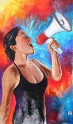 Robert Lebsack: Rise Up - Artists for Charity Artwork