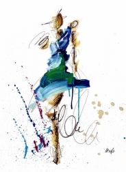 Ash Almonte: Pink Blue Green Figure