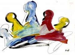 Ash Almonte: Primary Color Crown
