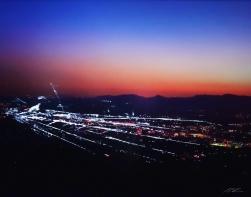 Pete Kasprzak: Burbank Hills Sunset