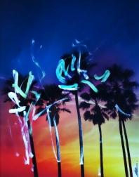 Pete Kasprzak: Venice California Multi Palms 1