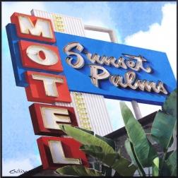 Michael Giliberti: Sunset Palms LA