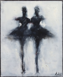 Mark Acetelli: Two Dancers #4