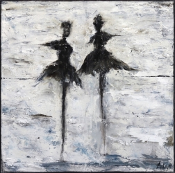Mark Acetelli: Two Dancers #5