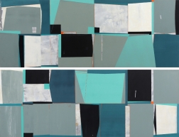 Heny Steinberg: Cityscape (Diptych)