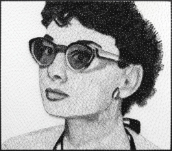 R Hunt: Audrey In The Sun