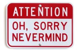 Scott Froschauer: Attention:  Nevermind V