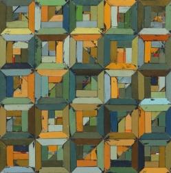 Rebecca Klundt: Pieced Quilt