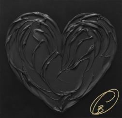 Cynthia Coulombe-Bégin: Black Heart No.1