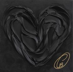 Cynthia Coulombe-Bégin: Coeur Noir No. 6
