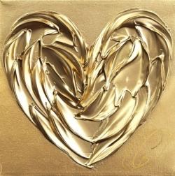 Cynthia Coulombe-Bégin: Gold Love No. 3