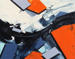 Paul Kirley: Abstract Landscape #138