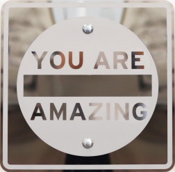 Scott Froschauer: You Are Amazing (Mirror Inverse II)