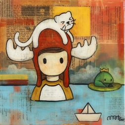 Melanie Tiongson: Cat On A Hat