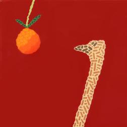 Will Beger: Orange Ostrich