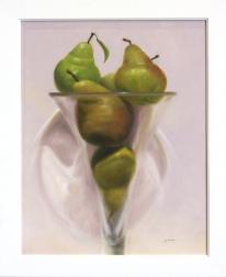 Stuart Dunkel: Pears in Violet