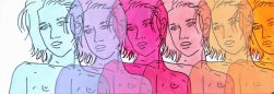 Hilary Bond: Blue, Purple, Magenta, Pink, Peach, Orange