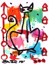 Gary John: Crouching Cat