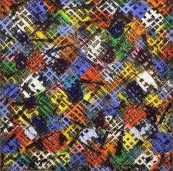 Petra Rös-Nickel: Diagonal Color Block