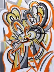 Frankie Alfonso: Orange Swirl