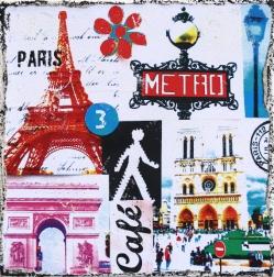Marion Duschletta: Paris Metro
