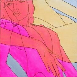 Hilary Bond: Pink Gold Silver