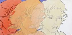 Hilary Bond: Sunset Orange, Apricot, Cream