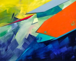Paul Kirley: Abstract Landscape 84