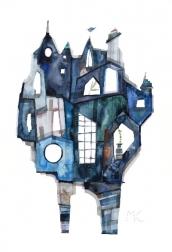 Maria C Bernhardsson: Blue Town