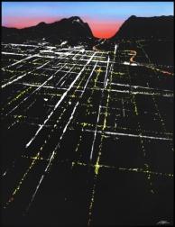 Pete Kasprzak: Highland Sunset Aerial