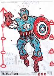 Gary John: Captain America 1966