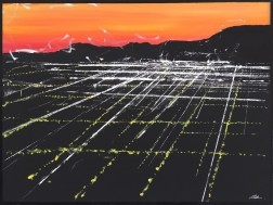 Pete Kasprzak: La Brea Sunset Aerial