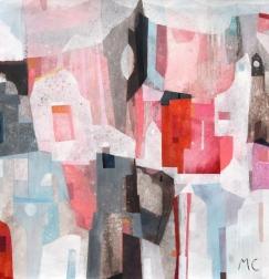 Maria C Bernhardsson: Pink Cat