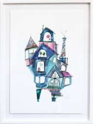 Maria C Bernhardsson: Blue Hale House