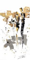 Zabel: Champagne et Versace