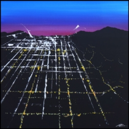Pete Kasprzak: Beverly Sunset Aerial