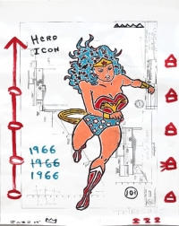 Gary John: Wonder Woman Stride