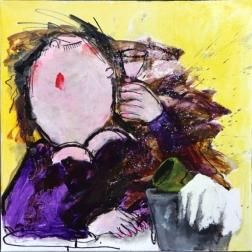 Gerdine Duijsens: Purple Lady