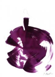 Bettina Mauel: The Purple Dress