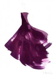 Bettina Mauel: The Purple Dress 2